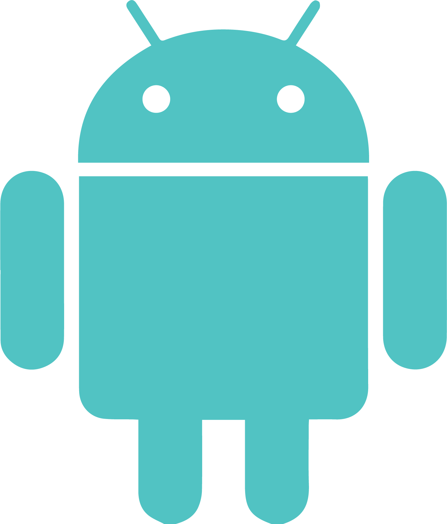 Android Icon (Teal)